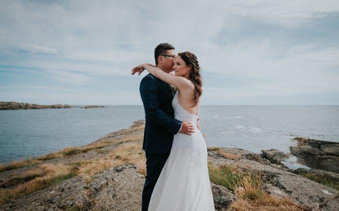 Margrethe & Marius wedding by Vegard Giskehaug Photography - 035