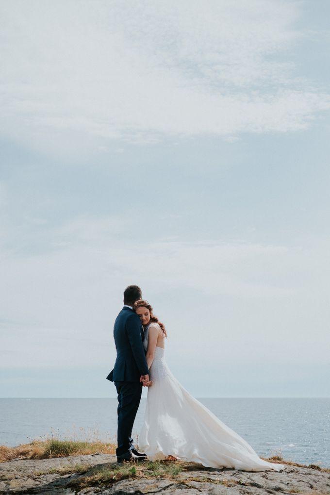 Margrethe & Marius wedding by Vegard Giskehaug Photography - 036