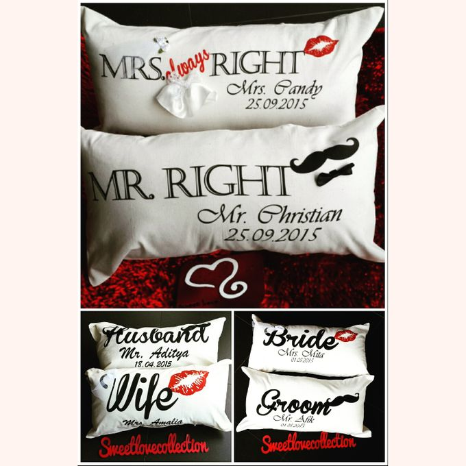 Wedding Pillow by Sweetlovecollection - 027