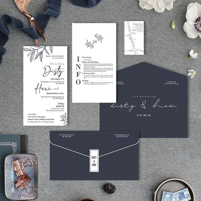 Disty & Heri by Bellva Invitation - 005