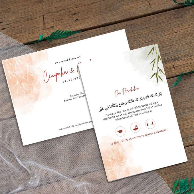 Cempaka & Gashif by Bellva Invitation - 002