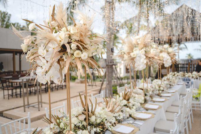 Wedding at The Ritz Carlton Koh Samui Thailand by IAMFLOWER - 011