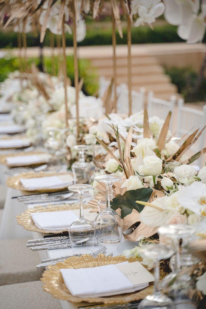 Wedding at The Ritz Carlton Koh Samui Thailand by IAMFLOWER - 012