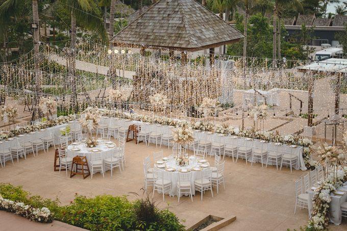 Wedding at The Ritz Carlton Koh Samui Thailand by IAMFLOWER - 016
