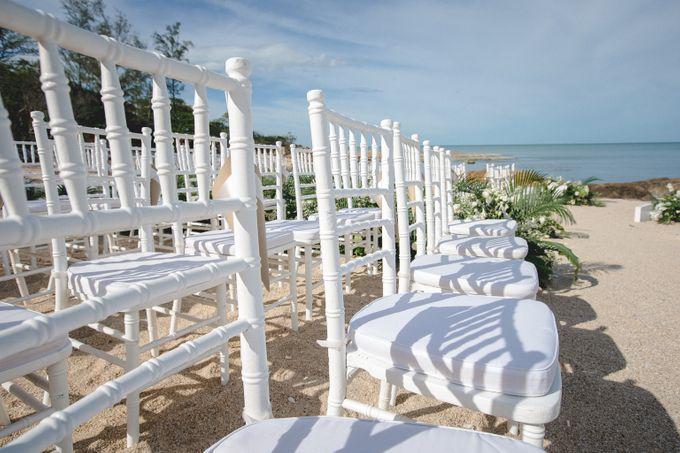 Wedding at The Ritz Carlton Koh Samui Thailand by IAMFLOWER - 003