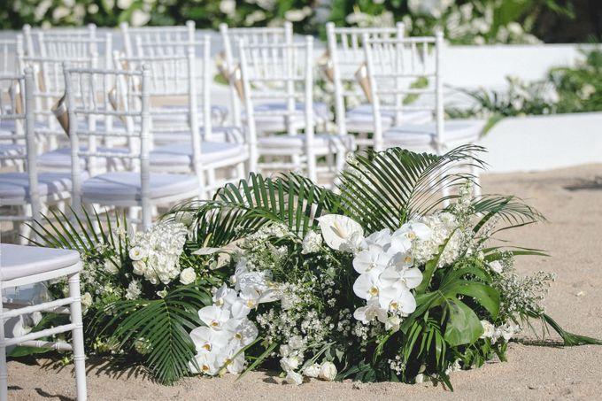 Wedding at The Ritz Carlton Koh Samui Thailand by IAMFLOWER - 004