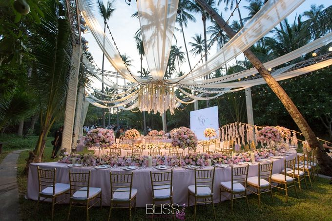 Wonderful wedding at Banyan Tree Koh Samui by BLISS Events & Weddings Thailand - 008