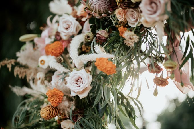 Styled shoot with blissful brides by Bloomwerks - 001