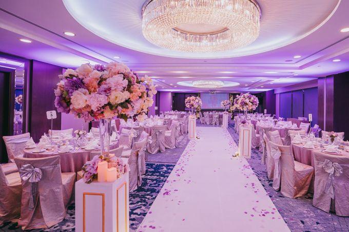 Iwin & Joel - Fairytale lilac wedding by Blissmoment - 002