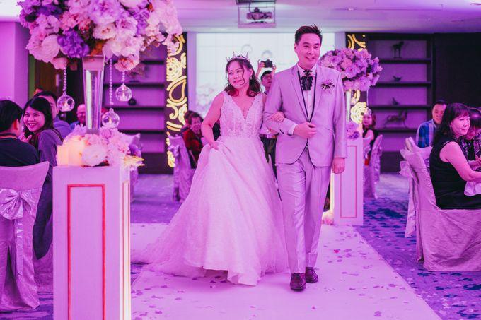 Iwin & Joel - Fairytale lilac wedding by Blissmoment - 001