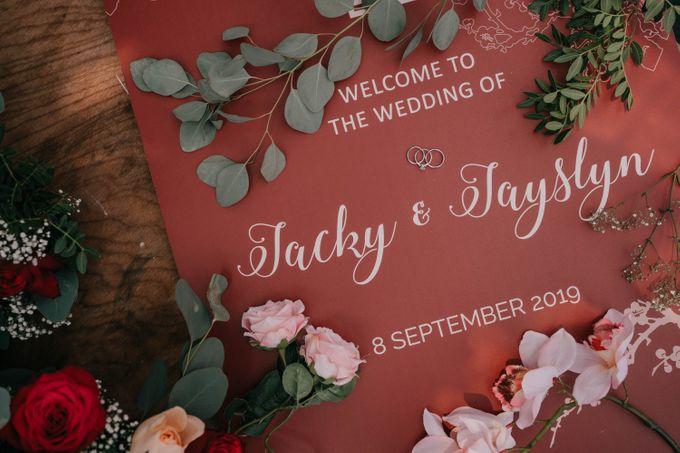 Jacky & Jayslyn - Glamorous red & pink canopy wedding by Blissmoment - 001