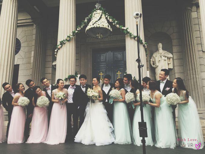 Dream wedding of Twinkle & George in Virtual Reality by Vertex VR Weddings - 001