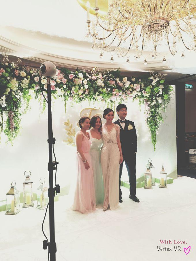 Dream wedding of Twinkle & George in Virtual Reality by Vertex VR Weddings - 003