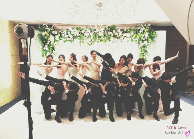 Dream wedding of Twinkle & George in Virtual Reality by Vertex VR Weddings - 002