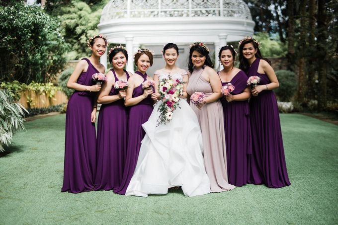A Romantic and Intimate Wedding in Tagaytay by Jexter Jordan - 033