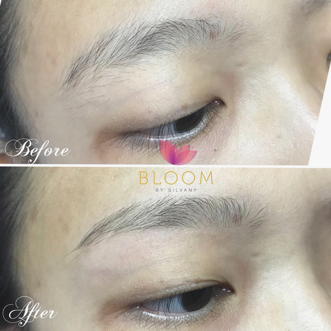 Eyebrow Threading Shaping By Bloom By Silvany Bridestory