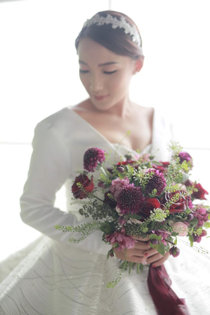 Andre & Wanda Prewedding Bouquet by Bloomette - 003