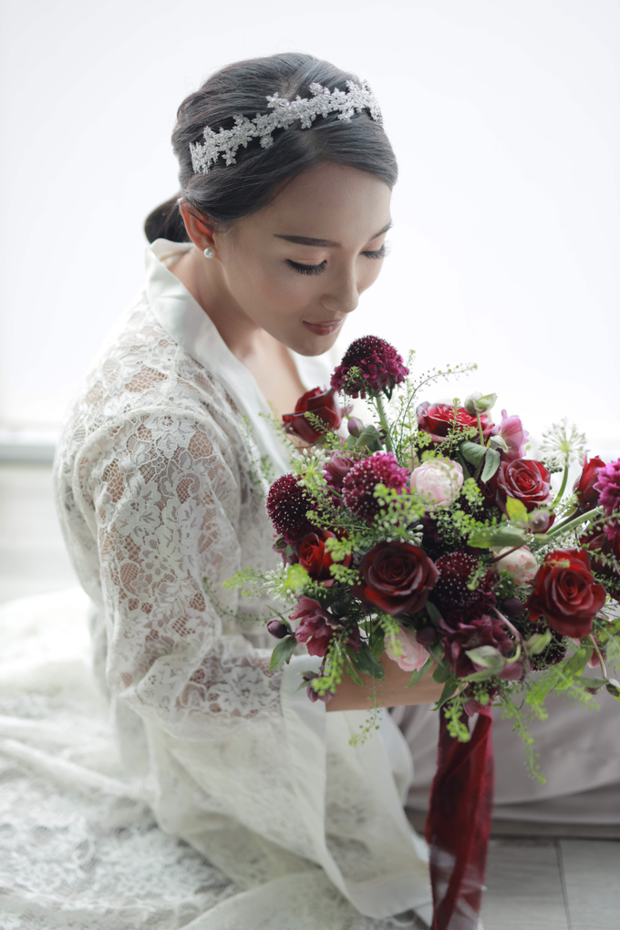 Andre & Wanda Prewedding Bouquet by Bloomette - 004