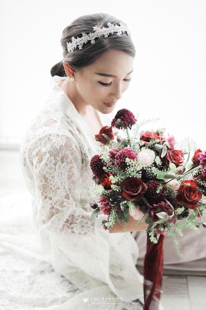 Andre & Wanda Prewedding Bouquet by Bloomette - 014