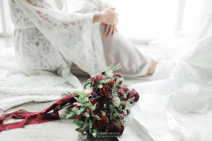 Andre & Wanda Prewedding Bouquet by Bloomette - 016