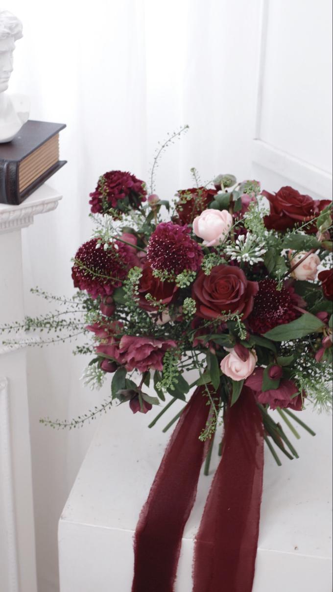 Andre & Wanda Prewedding Bouquet by Bloomette - 017