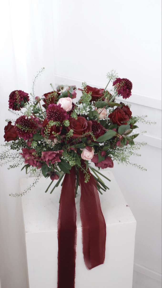 Andre & Wanda Prewedding Bouquet by Bloomette - 018