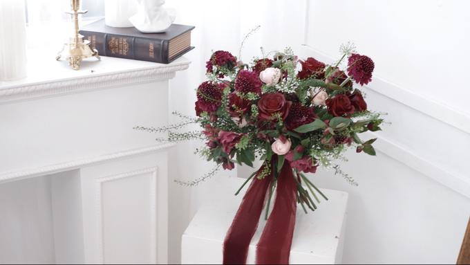 Andre & Wanda Prewedding Bouquet by Bloomette - 021