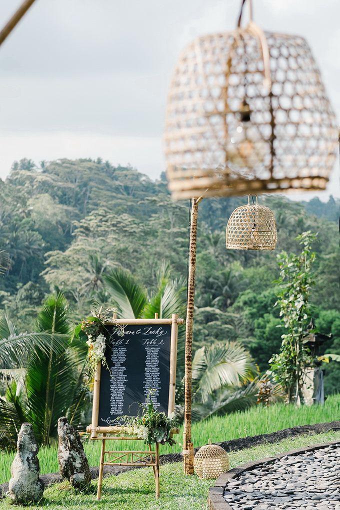 TAMARA & LUCKY  ELEGANCE IN THE RICE FIELDS by Bloomz Flower Bali - 005