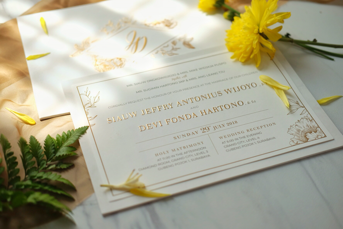 Jeffry & Devi wedding invitation by Bluebelle Invitations - 006
