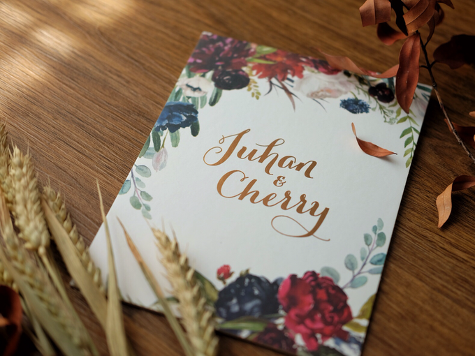Juhan & Cherry Wedding Invitation by Bluebelle Invitations - 009