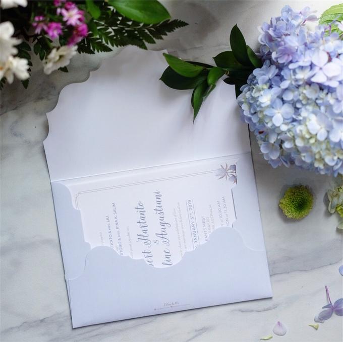 Albert & Cathline wedding invitation by Bluebelle Invitations - 003