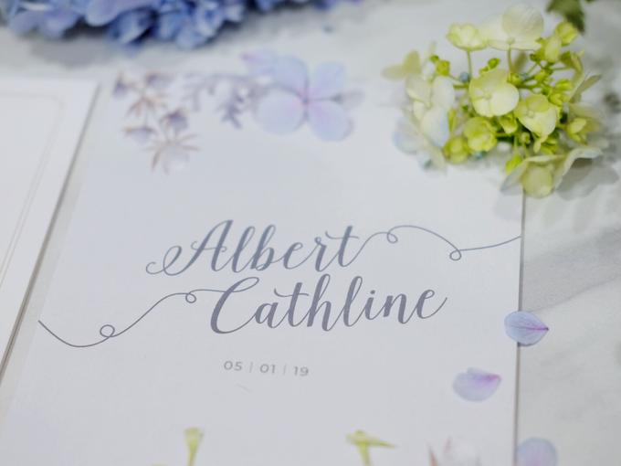 Albert & Cathline wedding invitation by Bluebelle Invitations - 006