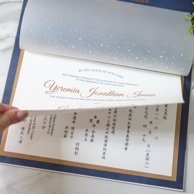 Yeremia & Amelia Rustic Stardust Invitation by Bluebelle Invitations - 004