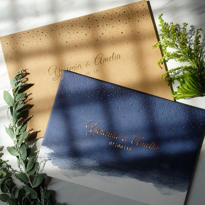 Yeremia & Amelia Rustic Stardust Invitation by Bluebelle Invitations - 005