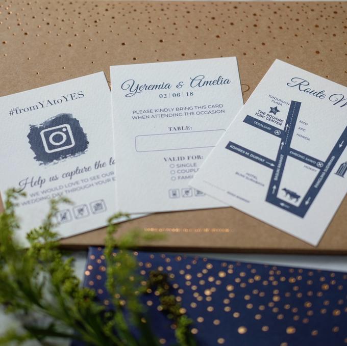 Yeremia & Amelia Rustic Stardust Invitation by Bluebelle Invitations - 006