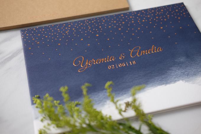Yeremia & Amelia Rustic Stardust Invitation by Bluebelle Invitations - 007