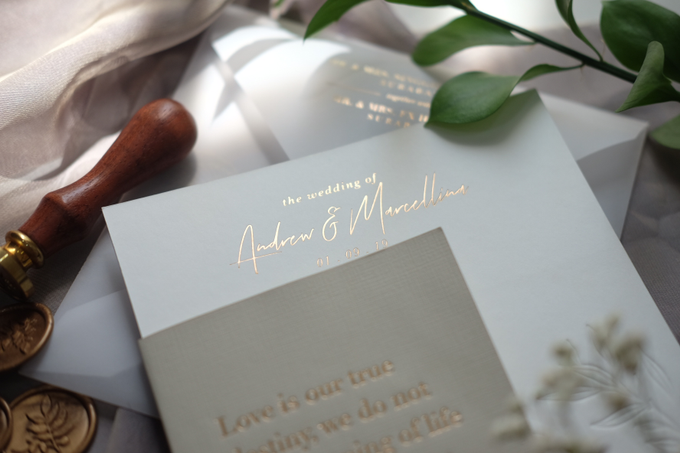 Andrew & Marcellina by Bluebelle Invitations - 001