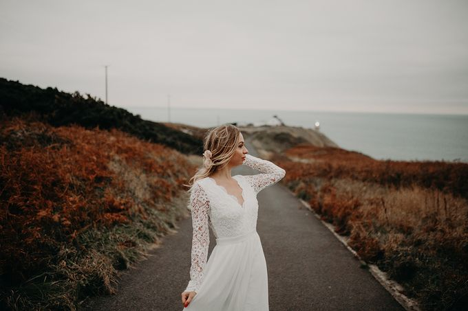 Windswept in Ireland by Fancy Bowtique Bridal Couture - 001