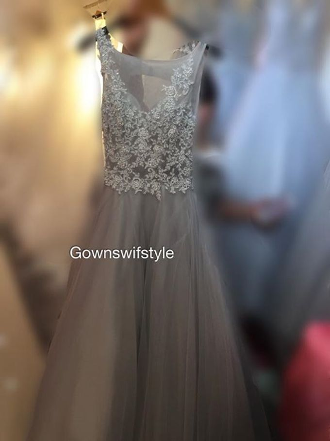 Beautiful Bridal Gowns by Makeupwifstyle - 019
