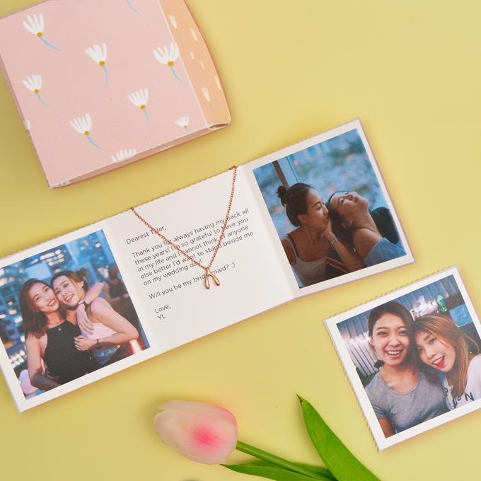 Personalised minigiv for your bridesmaids by minigiv - 001