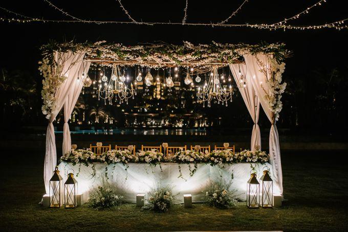 The Wedding Of David & Mey by The Apurva Kempinski Bali - 003