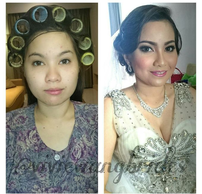 BEFORE AND AFTER by Vivie Wang Brides - 023