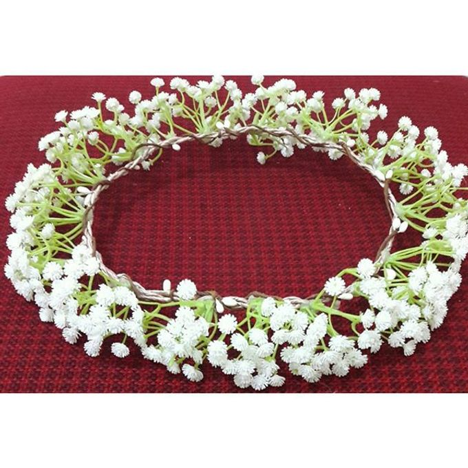 Flower Crown / Bando Bunga / Mahkota Bunga by Estrella Flower Crown - 028