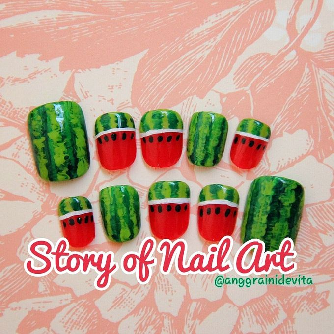 Painting Nails by Story of Nailart - 021