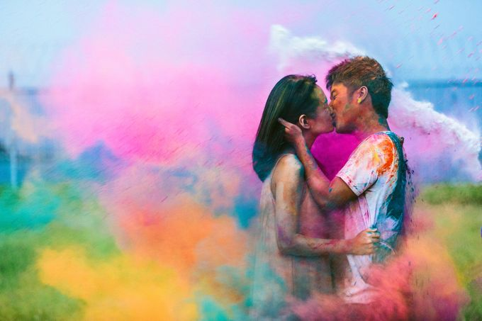 A colorful affair by Bobby Kiran Photography - 001