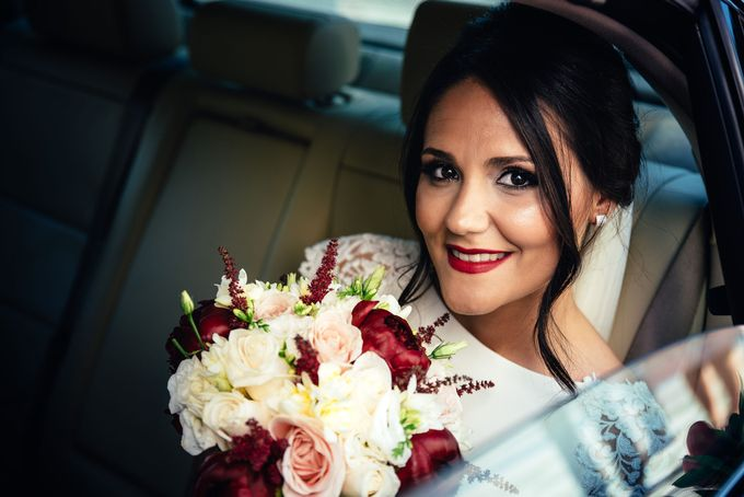 Nice Bride in the Car by WedFotoNet - 012