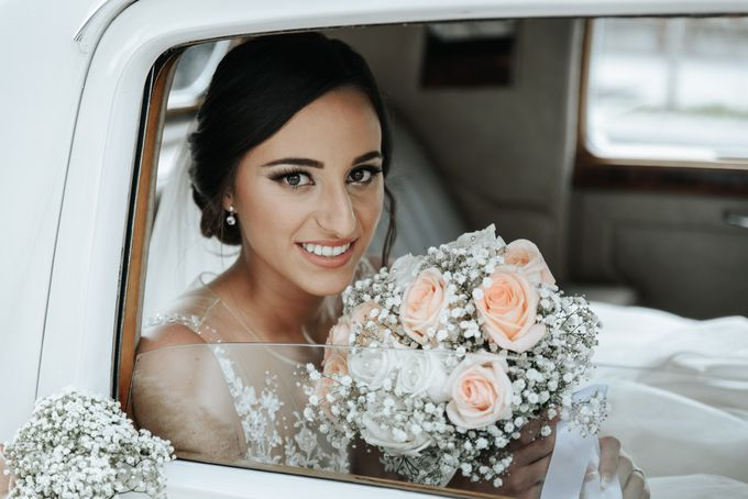 Nice Bride in the Car by WedFotoNet - 011