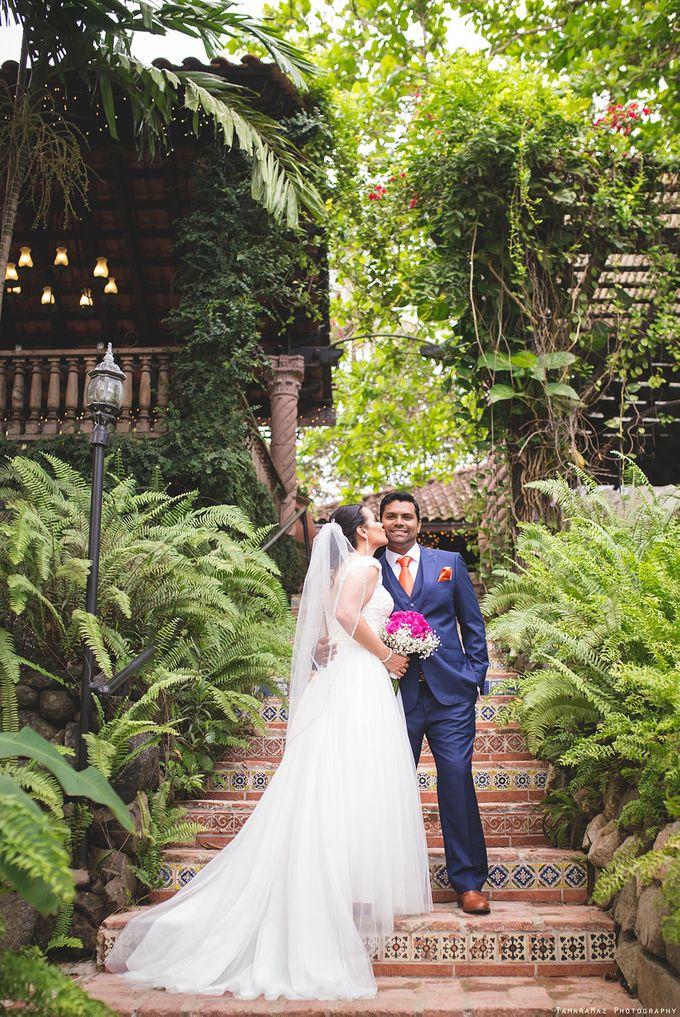 Hacienda Destination Wedding by Tamara Maz - 012