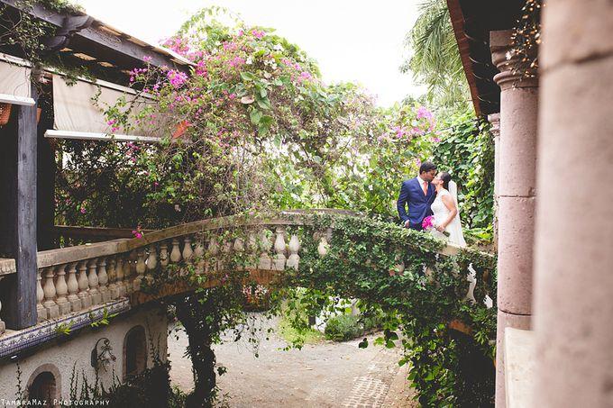 Hacienda Destination Wedding by Tamara Maz - 014