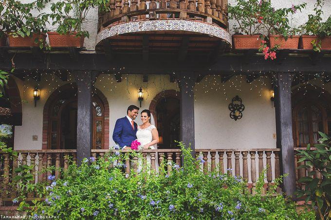 Hacienda Destination Wedding by Tamara Maz - 015
